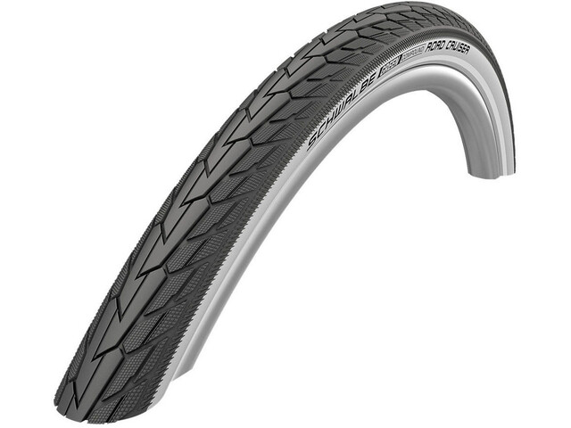 "SCHWALBE Road Cruiser Drahtreifen 28"" K-Guard Active Reflex Whitewall"